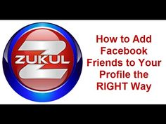 How to add Facebook friends and build up your Facebook friend base the RIGHT way without getting banned. http://fbninjayt.365.pm/