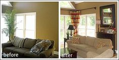 Before And After Decorating Pictures!