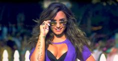 Demi Lovato parties with Paris Hilton, Jamie Foxx and Wiz Khalifa in the music video for her new song, 'Sorry Not Sorry' — watch!