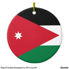 Flag of Jordan Ornament