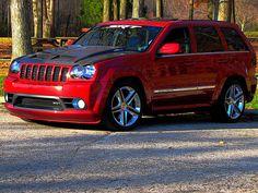 Srt8 Jeep, Mopar, Jeep Wk, 2007 Jeep Grand Cherokee, Lowrider Trucks, American Auto, Cool Vans, Jeep Accessories, Jeep Cars