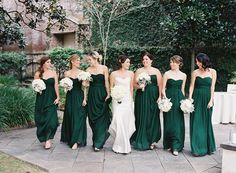 Emerald Green Wedding at William Aiken House  Read more - http://www.stylemepretty.com/2014/03/26/emerald-green-wedding-at-william-aiken-house/