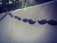 MUSTACHE Banner - Perfect addition to your Lil Man Dude Birthday Bash Party or Baby Shower