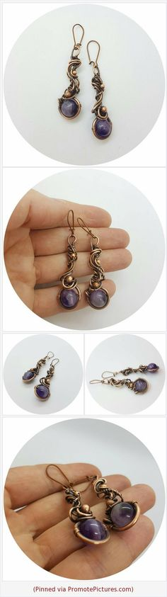 #Lilacearrings #amethystearrings #dangleearrings #copperearrings #carvedearrings #openworkearrings #interlacementearrings #earrings #Wirewrapped #Wirewrappedjewelry #Uniquegift #giftforher #Handmadegift #Wirewrap #Bohojewelry #copperjewelry #uniquejewelry #wirestone #amethyst #amethystjewelry #Lilacjewelry #copper https://www.etsy.com/MilaWireWrapArt/listing/620989433/lilac-amethyst-dangle-copper-carved?ref=shop_home_active_3  (Pinned using https://PromotePictures.com)