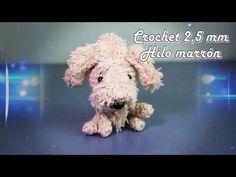 Perro llavero amigurumi crochet, tejiendo el perro completo (parte 1) - YouTube