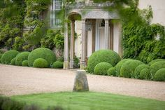The design has been focused on finding low maintenance, Practical and visually stimulating features, which embrace the client's passion for topiary and the scale of the house