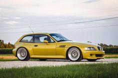 2002 M Coupe Phoenix Yellow
