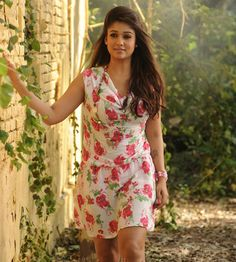 Stunning Pictures Of Actress: Nayan thara Western Dresses, Western Outfits, Indian Outfits, Bollywood Pictures, Short Dresses, Girls Dresses, Indian Celebrities, Celebrities Fashion, Celebs