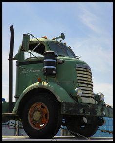 """This group is dedicated to the venerable GMC """"Cannonball"""" COE. If you have any picture of an actual GMC Cannonball truck, or pictures of models of this type, please feel free to add it! Semi Trucks, Big Rig Trucks, Cool Trucks, Pickup Trucks, General Motors, Antique Trucks, Vintage Trucks, Diesel, Muscle Cars"""