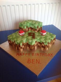 My minecraft cake