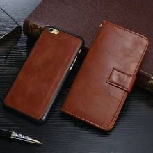 iPhone 6/6S Cases  2 in 1 Detachable Red/ Black/Brown Leather Wallet | @giftryapp