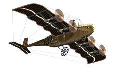 Steampunk Flying Machine 03 PNG Stock by Roy3D.deviantart.com on @DeviantArt