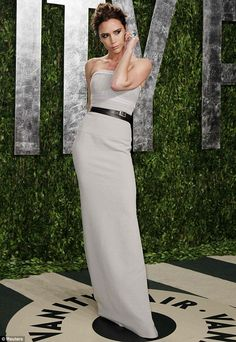 VB at the Vanity Fair Oscars party