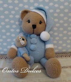 Sleepyhead bear #Ositos Dulces #Doll crochet #Amigurumisdolls #Crochet #Muñeca a crochet #Ganchillo #dollcrochet #Amigurumis #osita a crochet #Amigurumipattern #Doll #Dollspatterns #Amigurumibear #Teddy bear