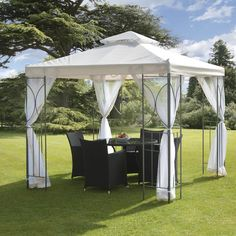 SunTime Outdoor Living Polenza 8 Ft. W x 8 Ft. D Steel Gazebo
