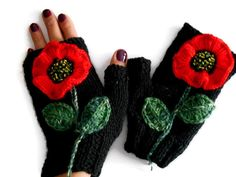 The Effective Pictures We Offer You About knittings yarn best A quality picture can tell you many th Fingerless Gloves Knitted, Knit Mittens, Crochet Gloves, Neck Accessories, Winter Accessories, Wrist Warmers, Hand Warmers, Etsy Handmade, Handmade Gifts