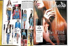 Sweet Hair El Salvador <3 <3 <3 The First, o primeiro shampoo que alisa no mundo, conquistando a imprensa internacional.  #sweet #hair #sweethairprofessional