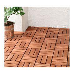 RUNNEN Floor decking IKEA Floor decking makes it easy to refresh your terrace or balcony.
