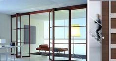 Portes design - Porte coulissante en verre