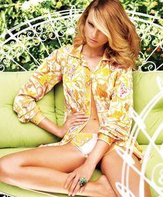 "Model: Fabiana Semprebom   Photographer: Troyt Coburn - ""Endless Summer"" for Marie Claire Australia"