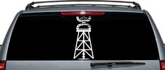 Hooey The Patriot Inspired Oilfield Rig Car Window Decal /  Oilfield Decal   | eBay