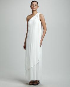 Rachel Pally White Label Ophelia jersey maxi dress