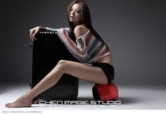Xie Meng Chinese babe With Long Legs