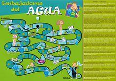 APRENDER Y DIVERTIRSE.... ¡¡TODO EN UNO!!: EL CICLO DEL AGUA Spanish Games, Smurfs, Recycling, Comics, Creative, Projects, Fictional Characters, Game Ideas, Homeschooling