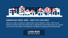Create Jobs for USA. Very cool effort of a grown up small business that took over the industry & is putting its money where its mouth has been. Lets everyone help everyone.