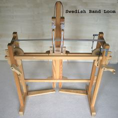 This is a Swedish band loom.  It is the first loom that I bought and is in almost constant use.