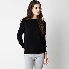 JOIE ELBOW PATCH SWEATER / demylee