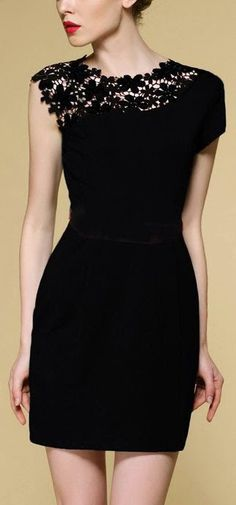 Little Black Dress. #dress