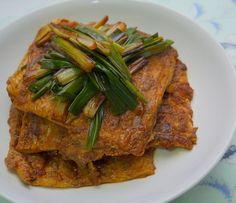 蔥燒豆包食譜、作法 | 愛旅遊的煮婦的多多開伙食譜分享