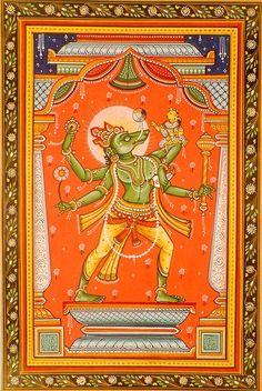Varaha Vishnu's Boar Avatar
