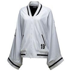 22ba3845fbb2 Fenty Puma By Rihanna Short Kimono Track Jacket ( 300) ❤ liked on Polyvore  featuring