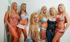 A very sensible girl: Meet the 14-year-old who unlike her mother and four sisters is refusing to have breast implants