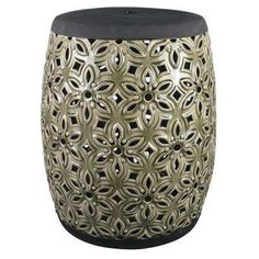 Show off your garden and landscape with this ceramic Garden Stool. This Garden Stool has a finished in a glaze for a polished aesthetic. Extremely durable this Garden Stool will add seasonal longevity Ceramic Garden Stools, Ceramic Plant Pots, Home Depot, Potted Plants, Garden Furniture, Planter Pots, Shapes, Ceramics, Floral