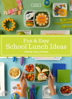 Your kiddos will be the envy of the lunchroom with these creative school lunch ideas. With a bunny-shaped sandwich or a rocket ship built from fruit, everyday becomes a special day. For all of the fun lunch box inspiration, click on the link!