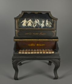 79.10276: The Gem - toy piano ca. 1885 at the The Strong