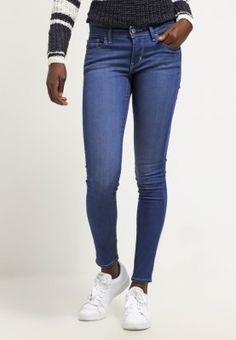 Levi's® 710 SUPER SKINNY - Jeans Skinny Fit - indigo rain - Zalando.no