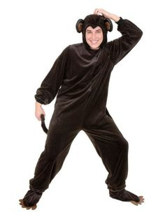 Check out Monkey Costume - Wholesale Animal Costumes for Adults from Wholesale Halloween Costumes
