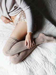 FP Hammock Thigh High socks
