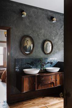 Home Decor Styles Ethelmont Rise in Sandy Bay Airbnb - The Nordroom.Home Decor Styles Ethelmont Rise in Sandy Bay Airbnb - The Nordroom Bad Inspiration, Bathroom Inspiration, Interior Inspiration, Home Interior, Interior Design, Home Design, Mediterranean Decor, Style Retro, Bathroom Colors