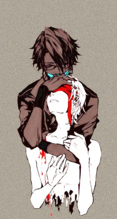 Fushimi is a yandere boy :-s He loves Yata so much that he want to kill him, for himself.