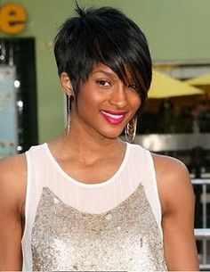 funky short hairstyles for women | Short HAIRSTYLES Pictures About Cute Short Hairstyles For Black Women Pinterest Short Hairstyles, Hairstyles Haircuts, American Hairstyles, Pixie Haircuts, Short Hairstyles For Women, Cute Hairstyles For Short Hair, Stacked Hairstyles, Fashion Hairstyles, Rihanna Hairstyles