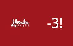 Ragazzi....è quasi festa! Mancano solo 3 giorni al 1° Bleenka Party. Avete segnato in agenda? 4 giugno | ore 23.30 | The Beach Club