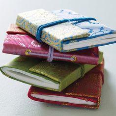 fair trade sari notebooks by paper high | notonthehighstreet.com