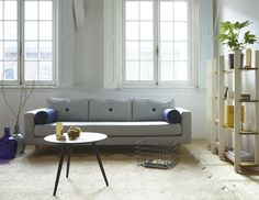 #FestAmsterdam Avenue sofa + Myato large. See our full collection on: www.festamsterdam.nl. Photo by Tjitske van Leeuwen.  #modernliving #sofa #midcentury #design #livingroom