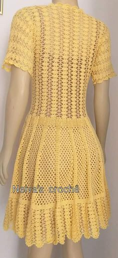 Pullover Design, Sweater Design, Crochet Skirts, Crochet Clothes, Baby Knitting Patterns, Crochet Patterns, Crochet Woman, Crochet Cardigan, Cute Crochet