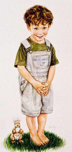 the velveteen rabbit :: watercolor portrait